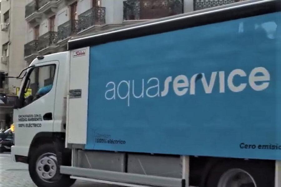 Aquaservice es pionera en camiones urbanos 100% eléctricos